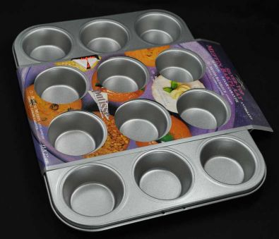Patisse Muffin Pan, 12 Cup
