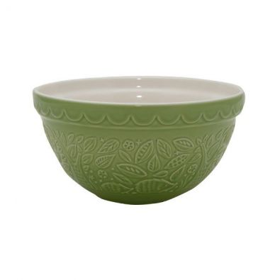 Mason Cash In the Forest Hedgehog Mixing Bowl, Green, Size 30