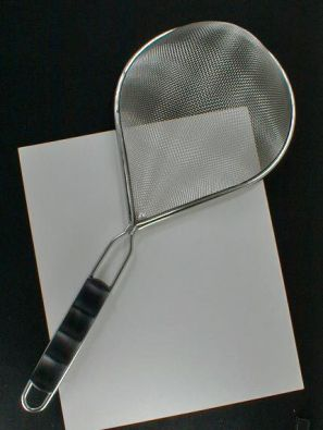 Ilsa Oval Handled Mesh Strainer and Pasta Scoop