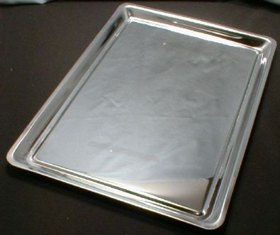 Jelly Roll Pan, Stainless Steel, 15 x 10 in.