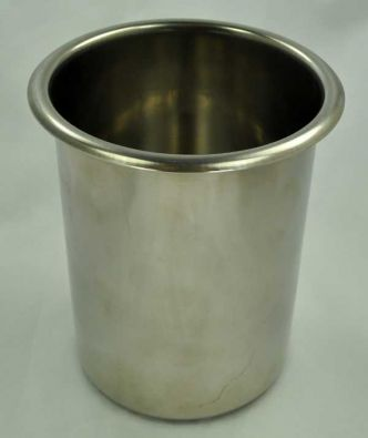 Boston Brown Bread Pot and Bain Marie Insert, 1.5 qt