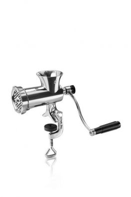 Tre Spade TC-8 Stainless Steel Manual Meat Grinder
