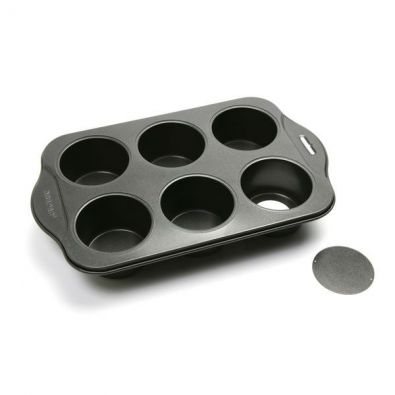 Small Cheesecakes Pan With Loose Bottoms, 6 Cup