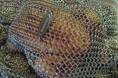 Roast Easy Stainless Steel Chainmail Baking Cover
