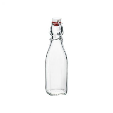 8.5 oz Swing Clear Glass Bottle