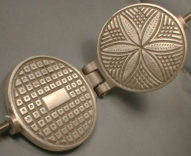 Fante's Round Stovetop Pizzelle Maker