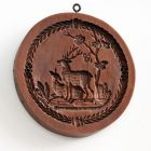 House on the Hill Stag and Doe Springerle Mold