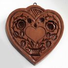 House On The Hill Quilted Hearts Springerle Mold